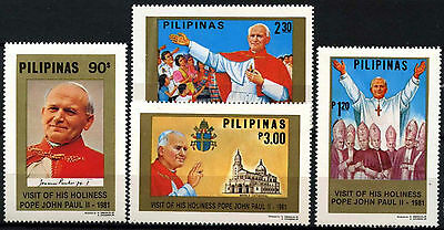 South Korea 1981 SG#1644-7 Pope, Papal Visit MNH Set #D39659