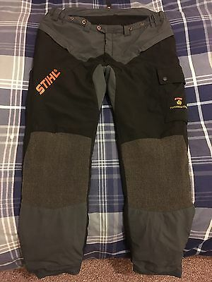 Stihl Chainsaw Work Trousers - Class 1 - Design Type C - Size XXL