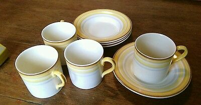 Four Woods Ivory Ware Coffee Cans