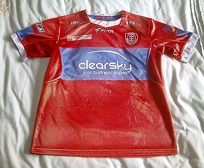 Hull KR rugby league shirt size small