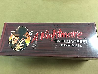 1991 Impel A Nightmare On Elm Street Coffin Factory Sealed Set Box New Unopened