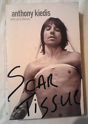 Scar Tissue - Anthony Kiedis (Red Hot Chili Peppers) Book 2004