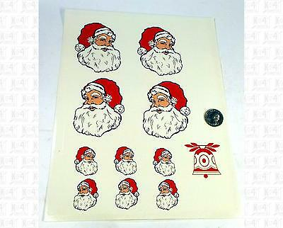 Virnex G Decals Christmas Decal Set Santa Claus For Train