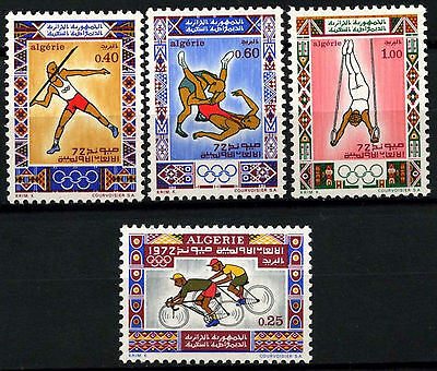 ALgeria 1972 SG#591-4 Olympic Games MNH Set #D39687
