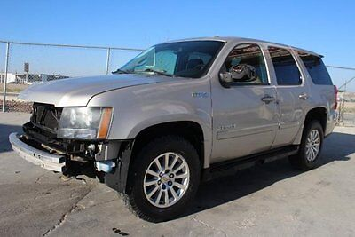 2008 Chevrolet Tahoe Hybrid 4WD Loaded!! Rebuilder SAVE$$ 2008 Chevrolet Tahoe Hybrid 4WD Salvage Wrecked Project Loaded!! Priced To Sell!