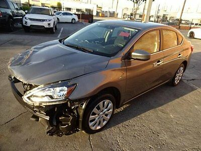 2016 Nissan Sentra SV 2016 Nissan Sentra SV Salvage Wrecked Repairable! Priced To Sell! Priced To Sell