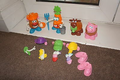 Mr Potato Head Farm Characters And Extras Great Condition