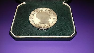 Malawi One Crown 1966 Proof Like Coin In Case