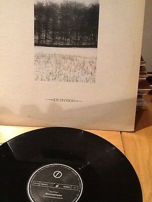 "12"" single Joy Division 'She's Lost Control/Atmosphere'"