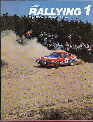 RAR -  World Rallying No.1 - Jahrbuch -1979 M. Holmes and H. Bishop - RAR