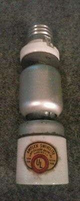 vintage light socket extension amplex swivelite