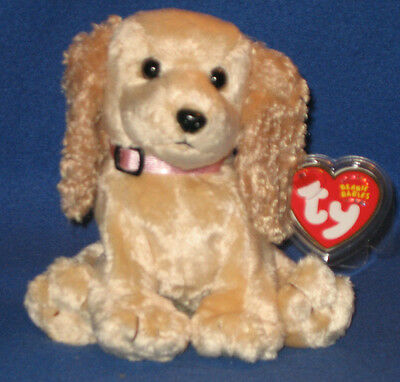TY SIS the DOG BEANIE BABY - MINT with MINT TAGS - TY STORE EXCLUSIVE