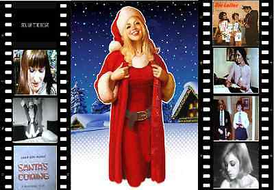 Classic---SIX OF THE BEST ON DVD--SANTA`S COMING --8mm films
