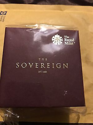 2017 Gold Proof Full Sovereign sealed