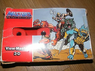 Rare Viewmaster 3D Masters Of The Univeverse Boxed