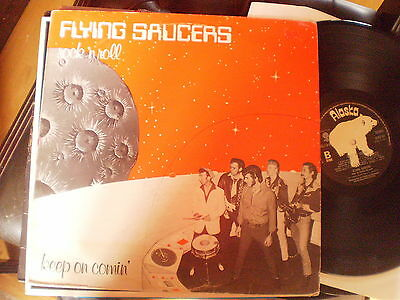 Flying Saucers - Rock N Roll Keep On Comin - Rockabilly  Lp