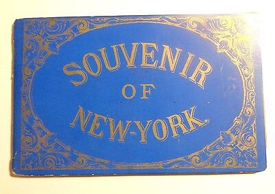 "IDEAL TOOTH POWDER ADVERTISING PREMIUM: BOOKLET ""SOUVENIR OF NEW-YORK) c1890s"