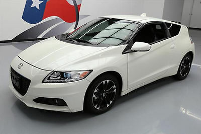 2014 Honda CR-Z  2014 HONDA CR-Z EX HYBRID LEATHER REAR CAM ALLOYS 25K #000898 Texas Direct Auto
