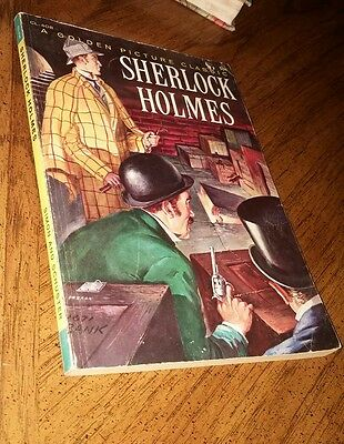 Sherlock Holmes a golden picture classic #408 soft cover silver age