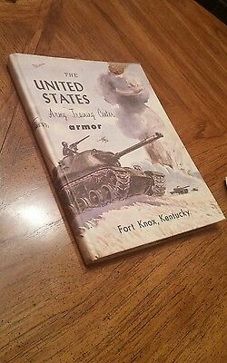 Vintage the united States army training center armor fort knox book