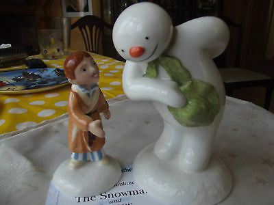 Royal Doulton The Snowman & James ltd ed with certificate.