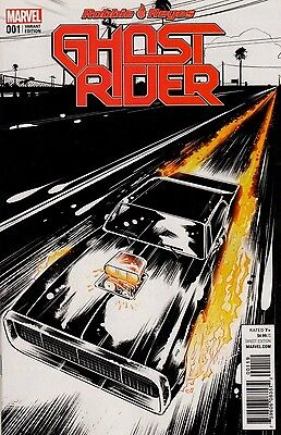 Ghost Rider#1 - 1 per store Beyruth Variant Cover NOW - Marvel 2016 - VF^