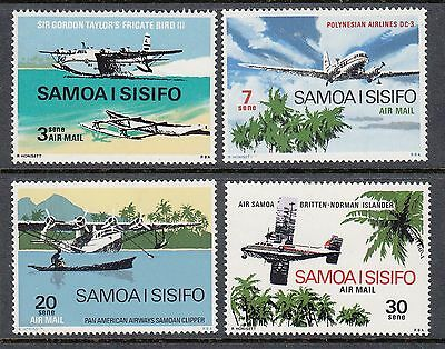 Samoa 1970 Airmail  Mint unhinged set 4 stamps