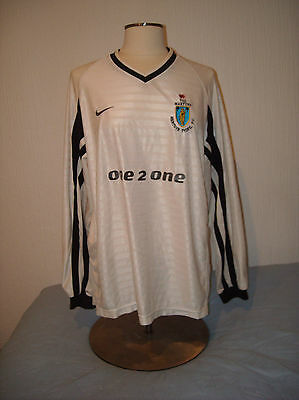 Merthyr Tydfil, 2001-2002 Wales Match Worn Football Shirt