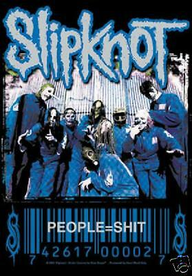 "Slipknot People=Sh*t 29""X43"" (75cmX110cm) Cloth Fabric Poster Wall Flag-New!"