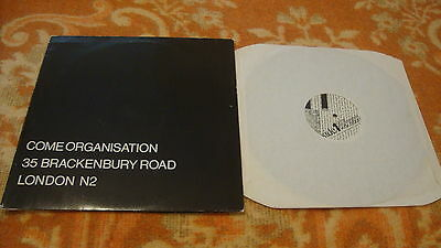 Come Organization The Second Coming LP 1981 Nurse With Wound Whitehouse Foetus