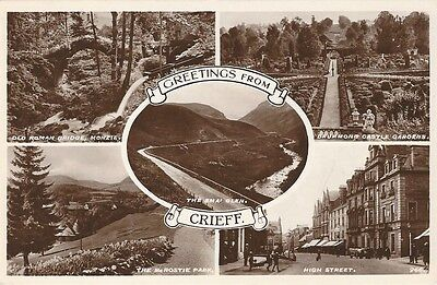 Crieff, Perthshire, Scotland c1920's Real Photograph
