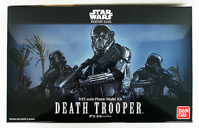 Bandai Star Wars Death Trooper 1/12 scale kit 090526