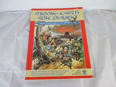 Middle-Earth Role Playing game 1986 I.C.E Lord of the Rings Soft Cover
