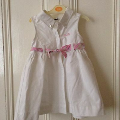 BRAND NEW WITH TAGS, Young Girl's White IZOD Dress, Age 4