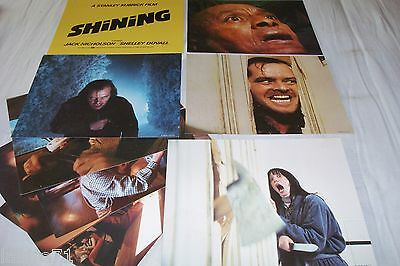 stanley kubrick SHINING ! stephen king : jeu photos cinema lobby cards tres rare