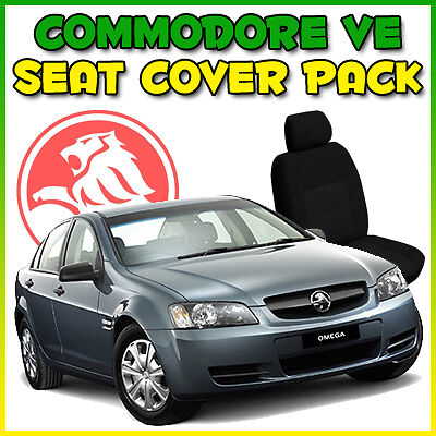 Holden Commodore Ve Omega Custom Made Car Seat Covers Charcoal Front & Rear New