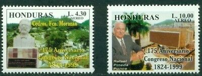 Honduras Scott #C1061-1062 MNH National Congress CV$3+