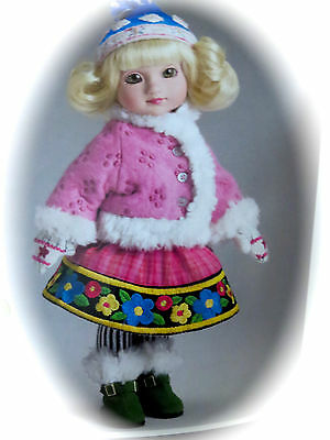 "10"" Ann Estelle/Sophie Doll ""WINTER PLAY ""by Tonner New IN SHIPPER NRFB"