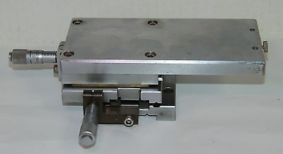 Machinist XY Linear Stage Positioner Mitutoyo Micrometers