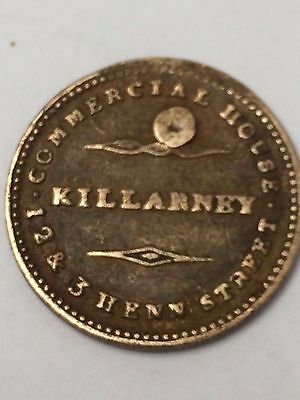 RARE U.S. Token KILLARNEY COMMERCIAL HOUSE GENERAL DRAPERS & CO.
