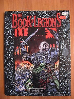 The Book of Legions Wraith the Oblivion White Wolf WW6063 used