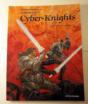 Cyber-Knights Rifts Siege on Tolkeen Four Coalition Wars Palladium new