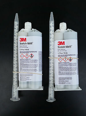3M Scotch-Weld Epoxy Adhesive EC-3333 B/A, 2-pack, 50mL,Aerospace Certified. NEW