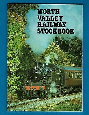 Stock Book - Keighley & Worth Valley Railway - Locomotives Carriages Wagons 1984