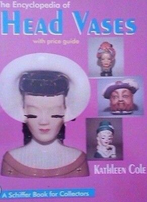 HEAD VASE VALUE GUIDE COLLECTOR'S ID REFERENCE BOOK Over 900 color photos
