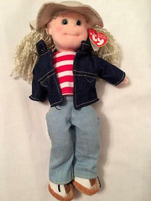 """TY Beanie Bopper Lucky Lucy-New w/tag 12"""" tall"""