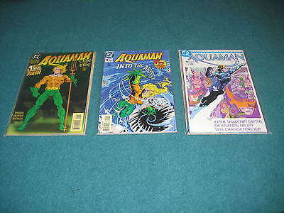 Aquaman Mini Series complete 1-4 1986 +Time and Tide 4 issue mini +0 issue +more