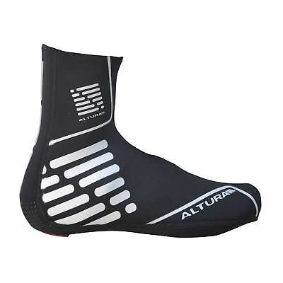 Altura Thermostretch II Neoprene Road Bike/Cycling/Cycle Overshoes - Black