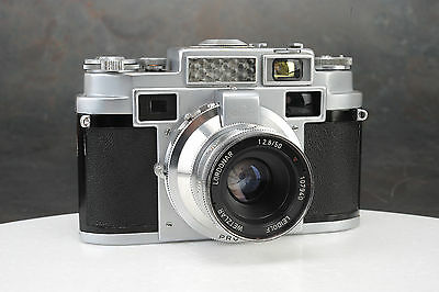 - Leidolf Lordomat C 35 C35 Camera with 50mm f2.8 Lens, Parts or Repair