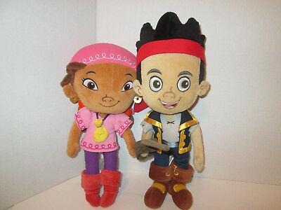 Authentic Disney Store Jake and the Neverland Pirates Izzy Stuffed Animal